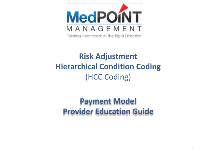 risk adjustment hierarchical condition coding hcc coding