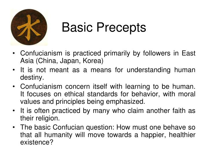 Basic precepts