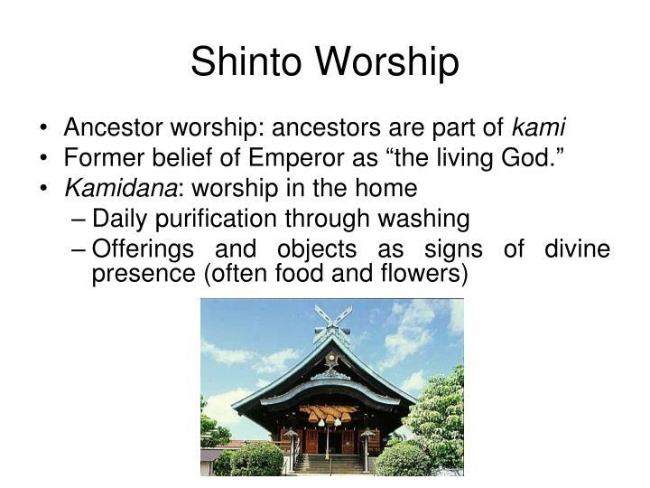 Shinto Worship