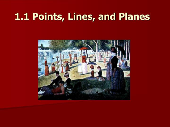 1 1 points lines and planes n.