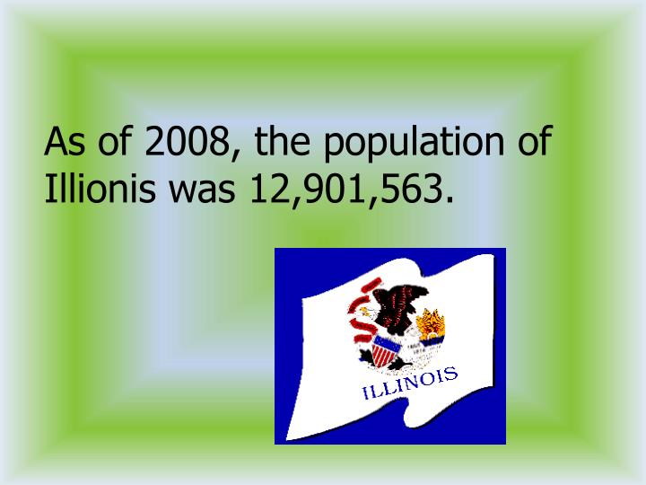 As of 2008, the population of