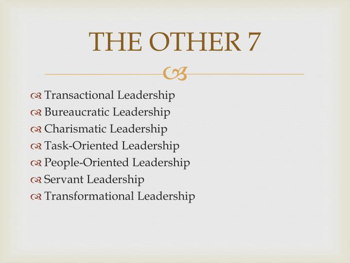 understanding transformational and charismatic styles of leadership essay This style of leadership involves discussion, debate and sharing of ideas and encouragement of people to feel good about their involvement this leadership style works best in situations where group members are skilled and eager to share their knowledge.
