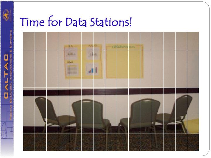 Time for Data Stations!