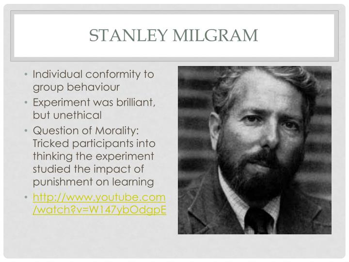a study about the conflict between obedience to authority and personal conscience Although milgram's findings are disturbing, more recent research has suggested that obedience to authority over conscience is not inevitable indeed, the research of steven sherman, also a psychologist, suggests that education can strengthen the power of conscience over authority.