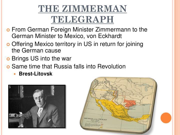 THE ZIMMERMAN TELEGRAPH