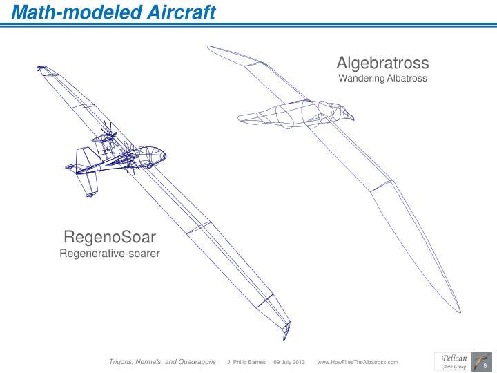 Math-modeled Aircraft
