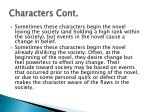characters cont1