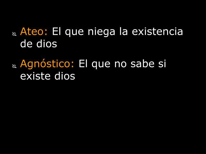 Ateo: