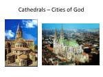 cathedrals cities of god