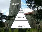 church hierarchy