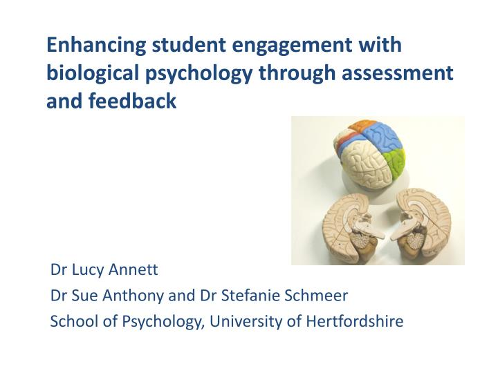 enhancing student engagement with biological psychology through assessment and feedback n.