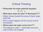 critical thinking22