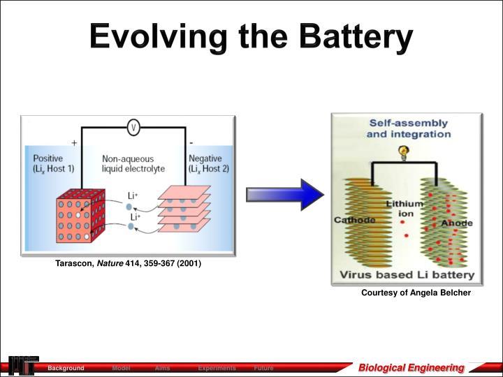 Evolving the Battery