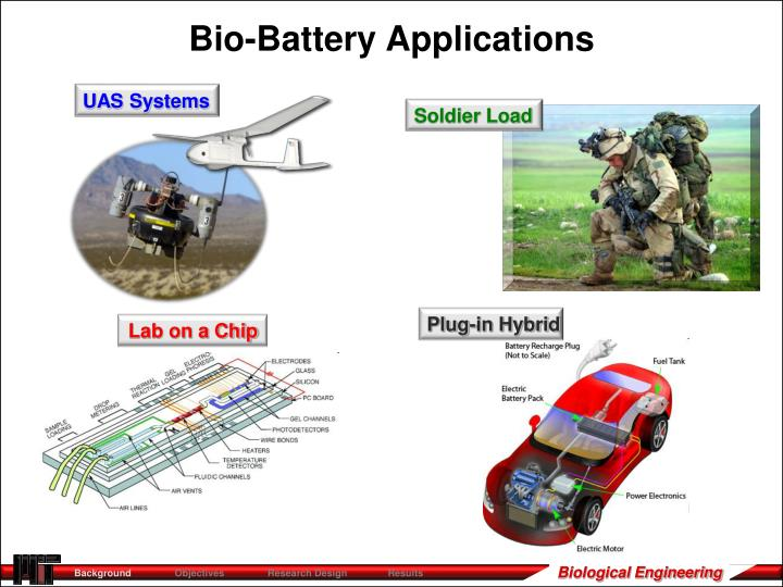 Bio-Battery Applications