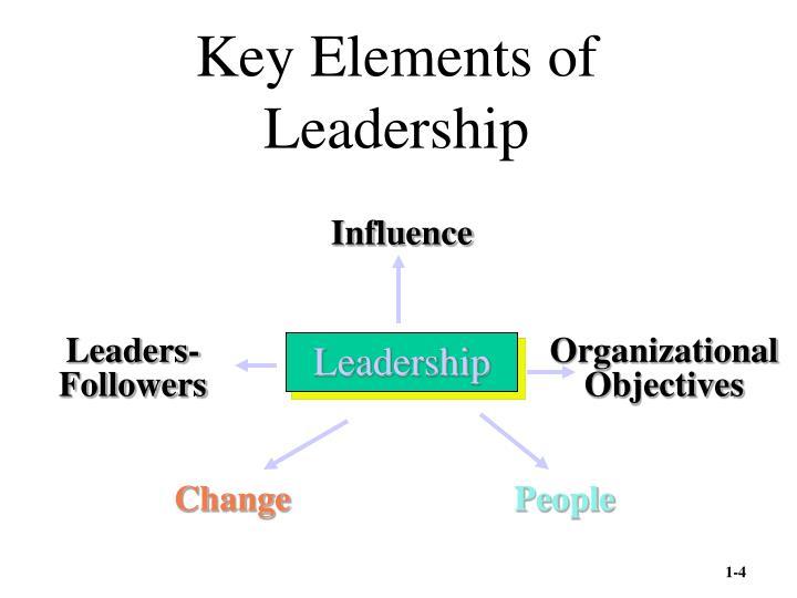 Key elements of leadership