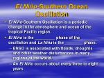 el ni o southern ocean oscillation