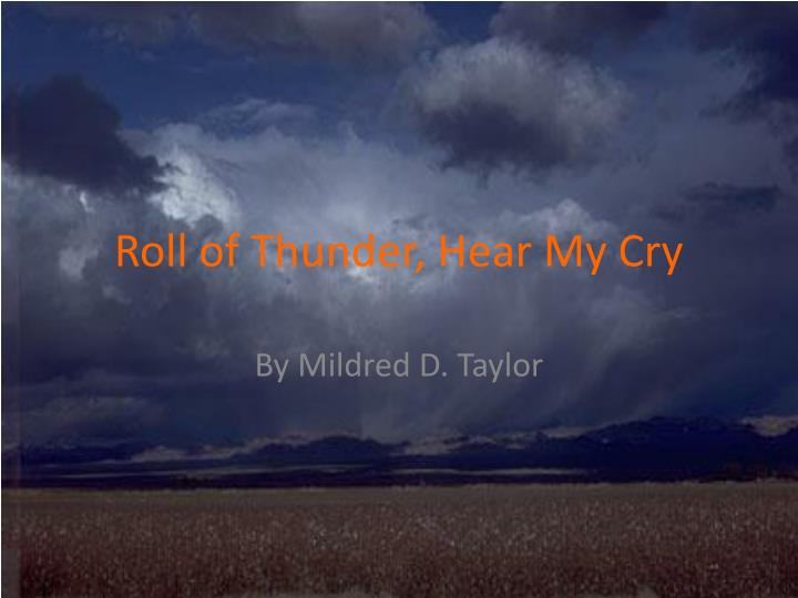 mildred d taylor essay The land and other books by mildred taylor about the logan family saga all of mildred d taylor's novels to date are based on stories from her own.