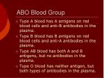 abo blood group