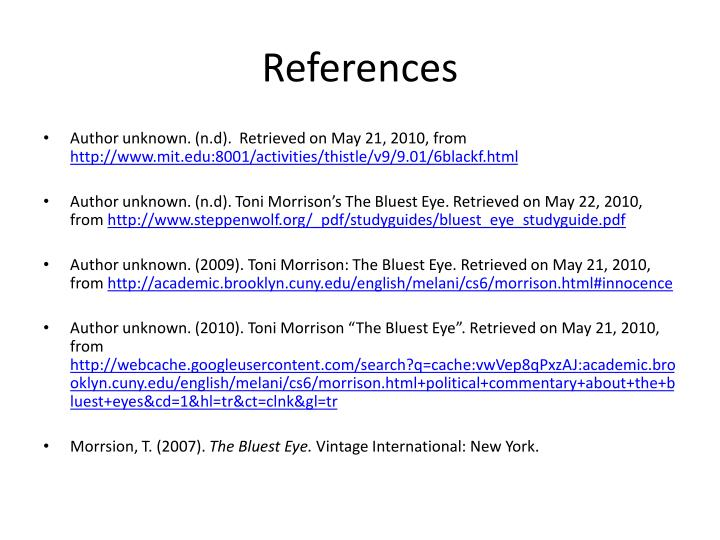 an analysis of the theme of racism in the bluest eye a novel by toni morrison Toni morrison's the bluest eye / edited and with an introduction by summary and analysis 27 the bluest eye, toni morrison's first novel.
