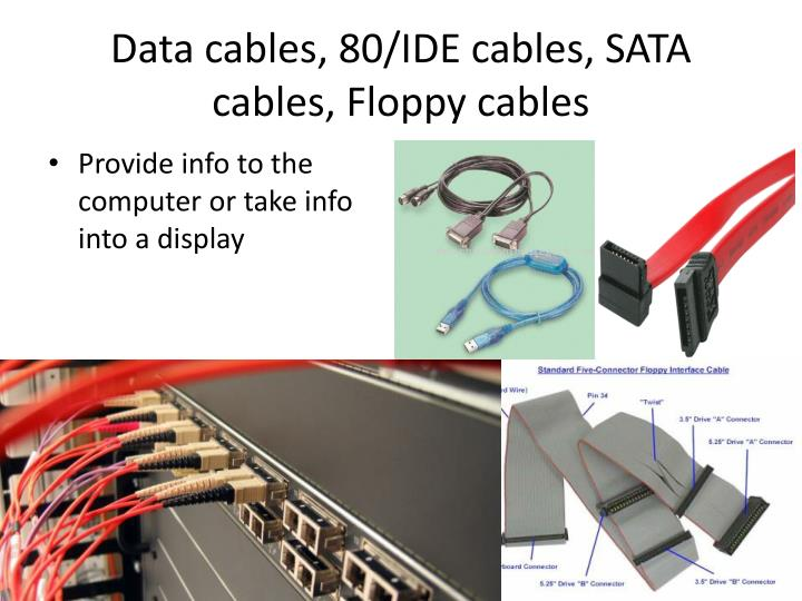 data cables 80 ide cables sata cables floppy cables n.
