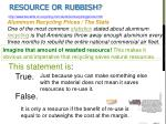 resource or rubbish1