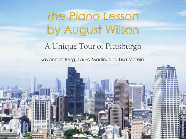 piano lesson august wilson research paper View homework help - the_piano_lesson_by_august_wilson_-_paper_assignment from finance 590 at keller graduate school of management the piano lesson by august wilson paper assignment although set.