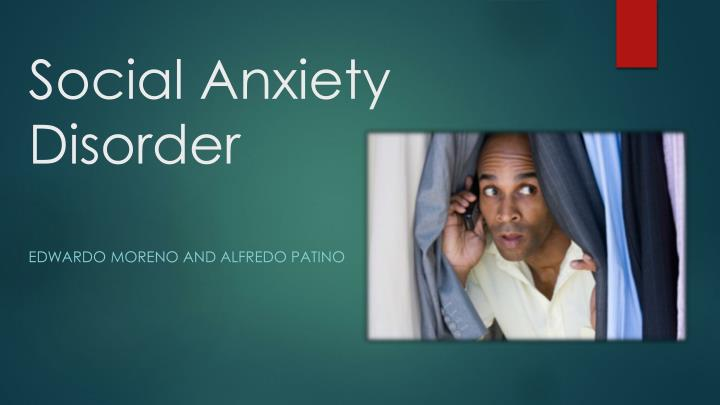 social anxiety disorder research papers Journal of anxiety disorders is an interdisciplinary journal that publishes research papers dealing with all aspects of anxiety disorders for all age groups (child, adolescent, adult and geriatric) manuscripts that focus on disorders formerly categorized as anxiety disorders (obsessive-compulsive disorder.