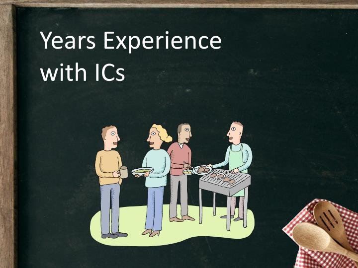 Years Experience with ICs