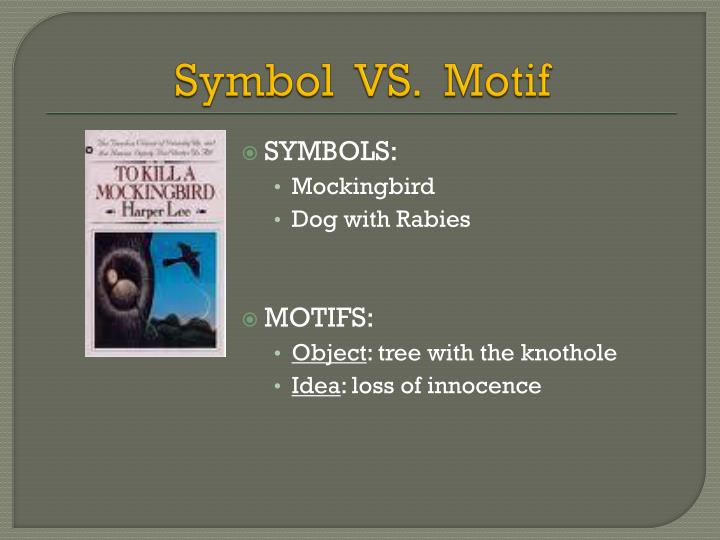 Ppt The Study Of Motifs Powerpoint Presentation Id3069783