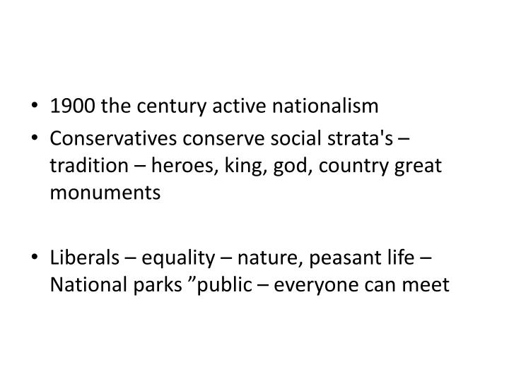 1900 the century active nationalism