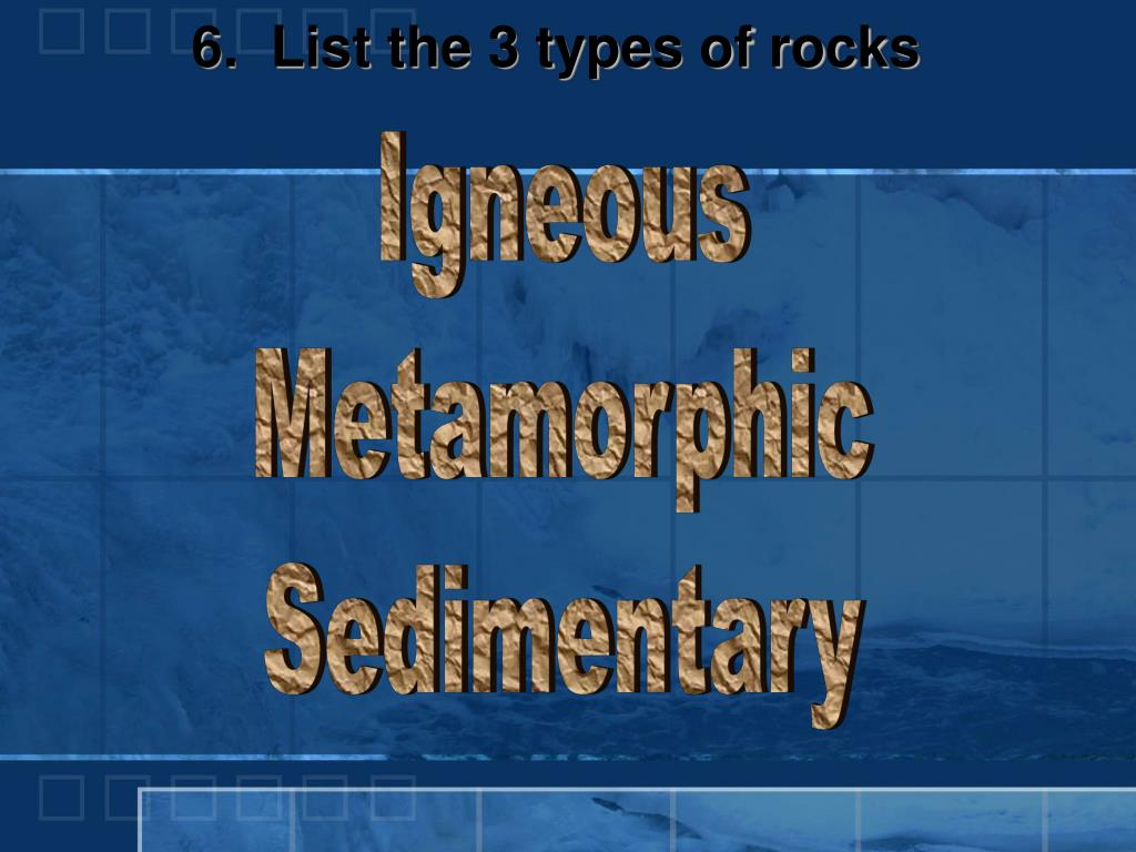 PPT - Rocks, Minerals & the Rock Cycle PowerPoint