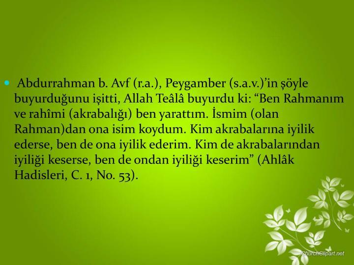 Abdurrahman