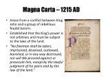 magna carta 1215 ad