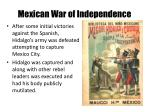mexican war of independence1