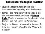 reasons for the english civil war1