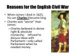 reasons for the english civil war2