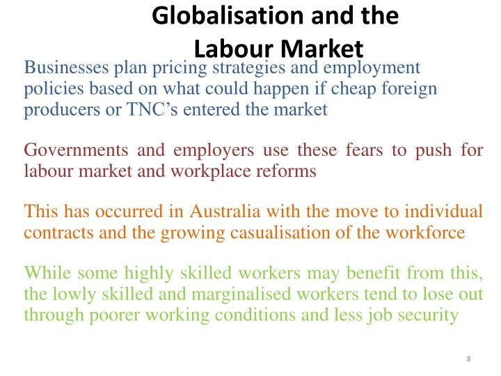 Globalisation and