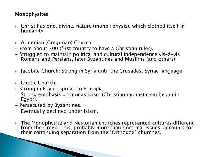 Monophysites