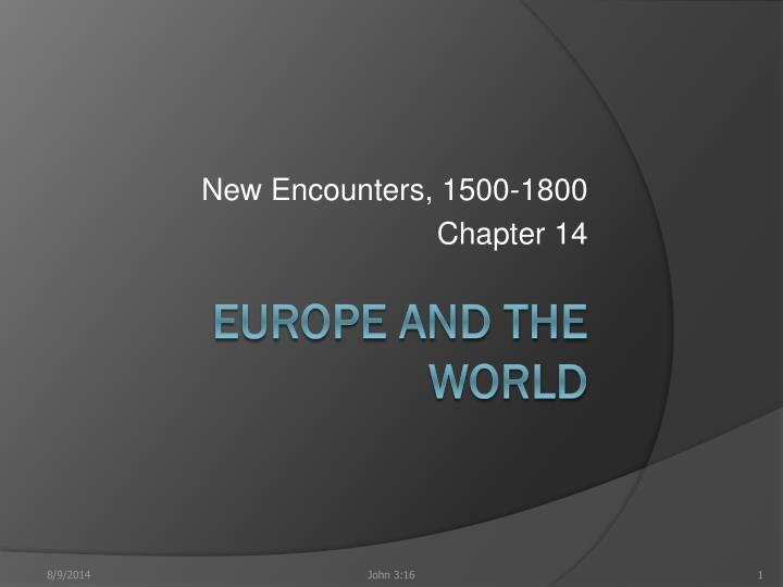 new encounters 1500 1800 chapter 14 n.