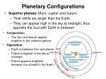 planetary configurations1