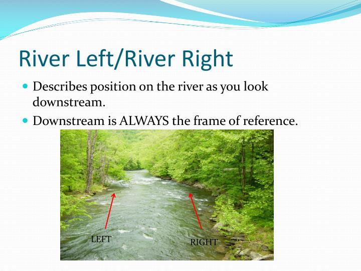 River Left/River Right