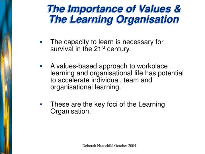 importance of organisational learning