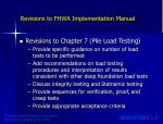 revisions to fhwa implementation manual4