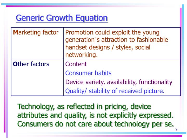 Generic Growth Equation