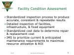 facility condition assessment