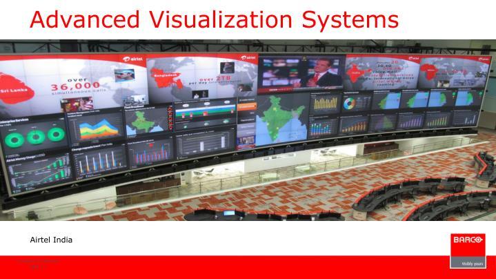 Advanced Visualization Systems