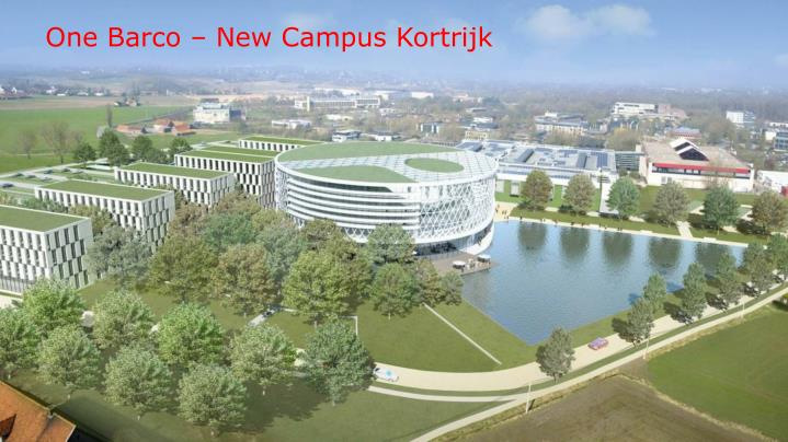 One Barco – New Campus Kortrijk
