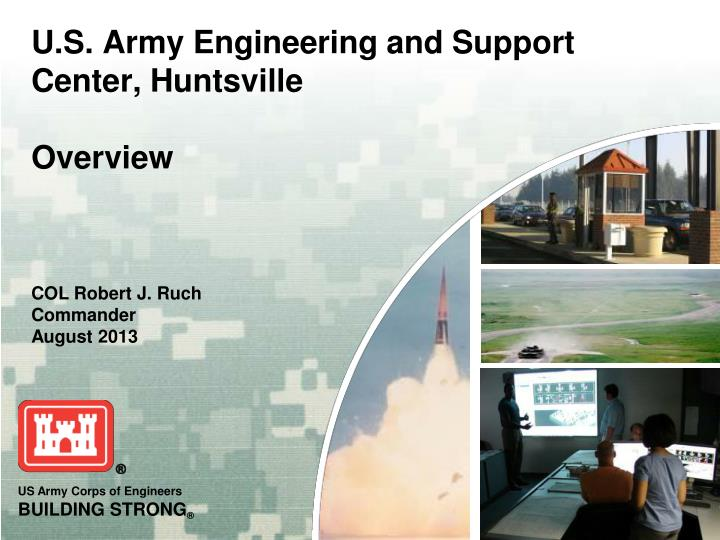 u s army engineering and support center huntsville overview n.