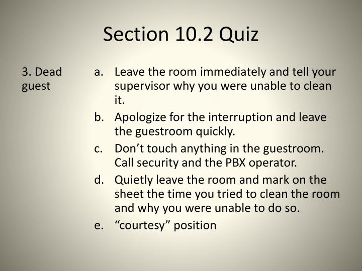 Section 10.2 Quiz