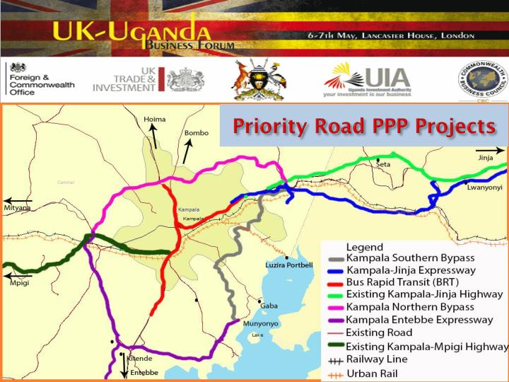 Priority Road PPP Projects